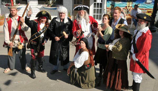 Dressing the part: The Eastport Pirate Festival runs Sept. 10 to 12 with the race taking place on Sept. 12.
