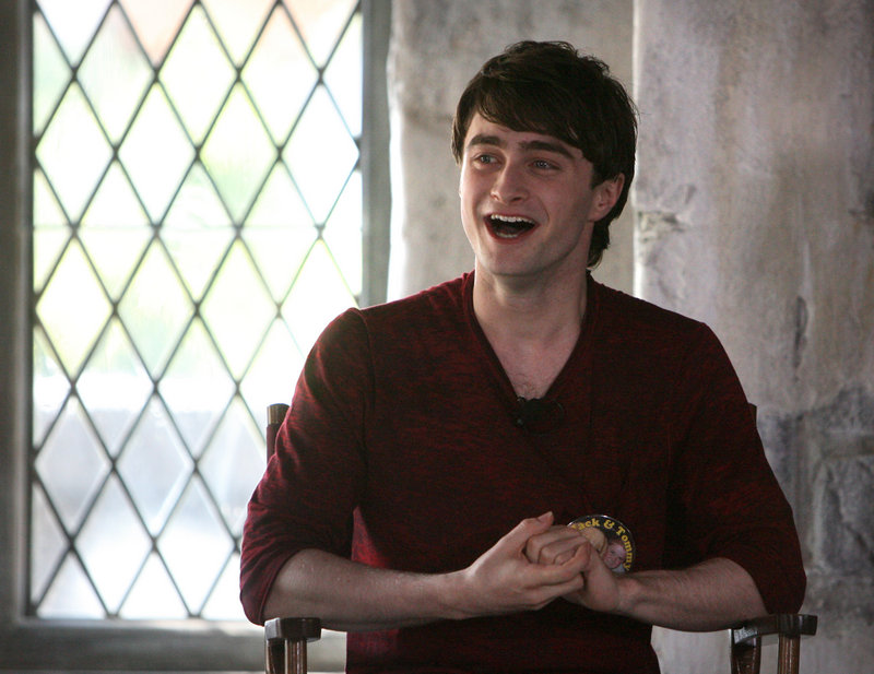 """Daniel Radcliffe, who portrays Harry Potter, will appear on Broadway in """"How to Succeed in Business Without Really Trying."""""""