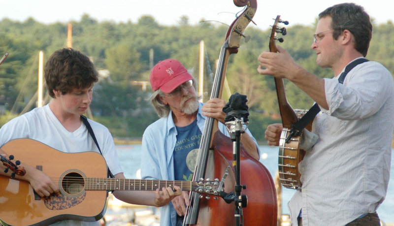 The trio Free Seedlings will perform a free concert at 7 p.m. on Thursday at the Camden Amphitheatre.
