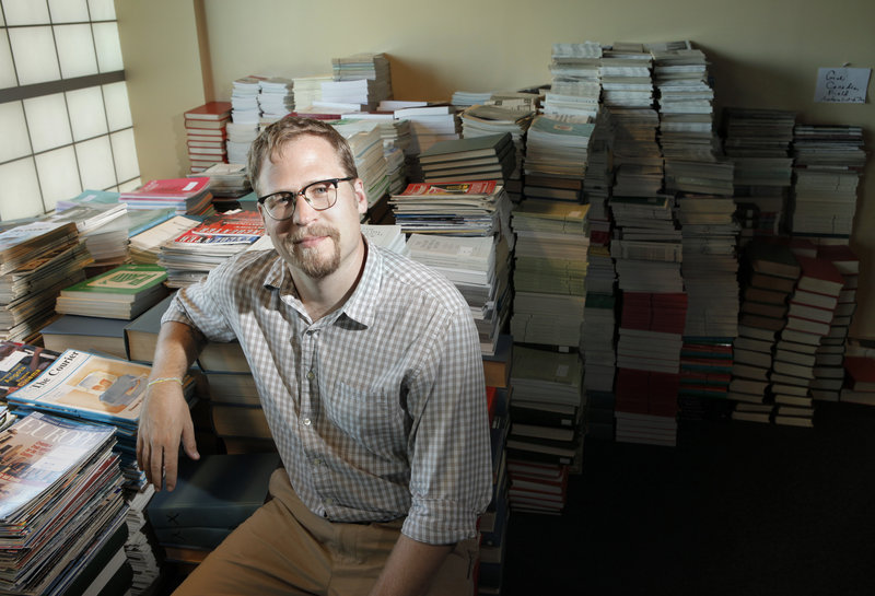 Joshua Bodwell is the new director of the Maine Writers & Publishers Alliance. He has high hopes and big plans for the 35-year-old organization.
