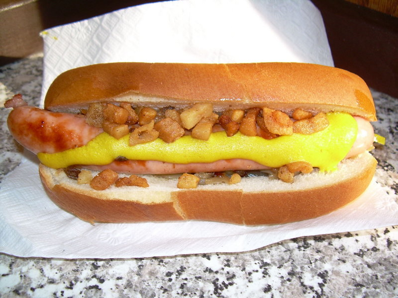 A dog from Bolley's.