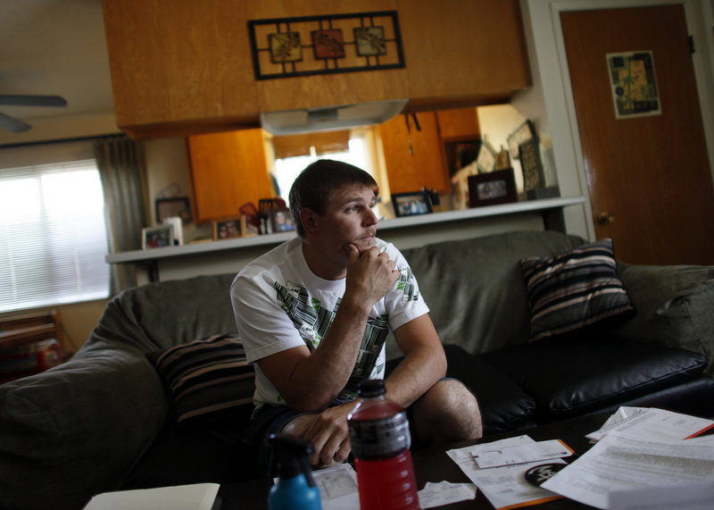 """Some homeowners say ignoring the mortgage is the only option they have. """"I stopped paying payments about 12 months ago,"""" said Jeff Dunkin, a construction worker who has twice sought to modify the loan on his San Jose, Calif., condo, above, and twice he's been denied. """"It's a lot of anxiety, a lot of stress,"""" he said."""