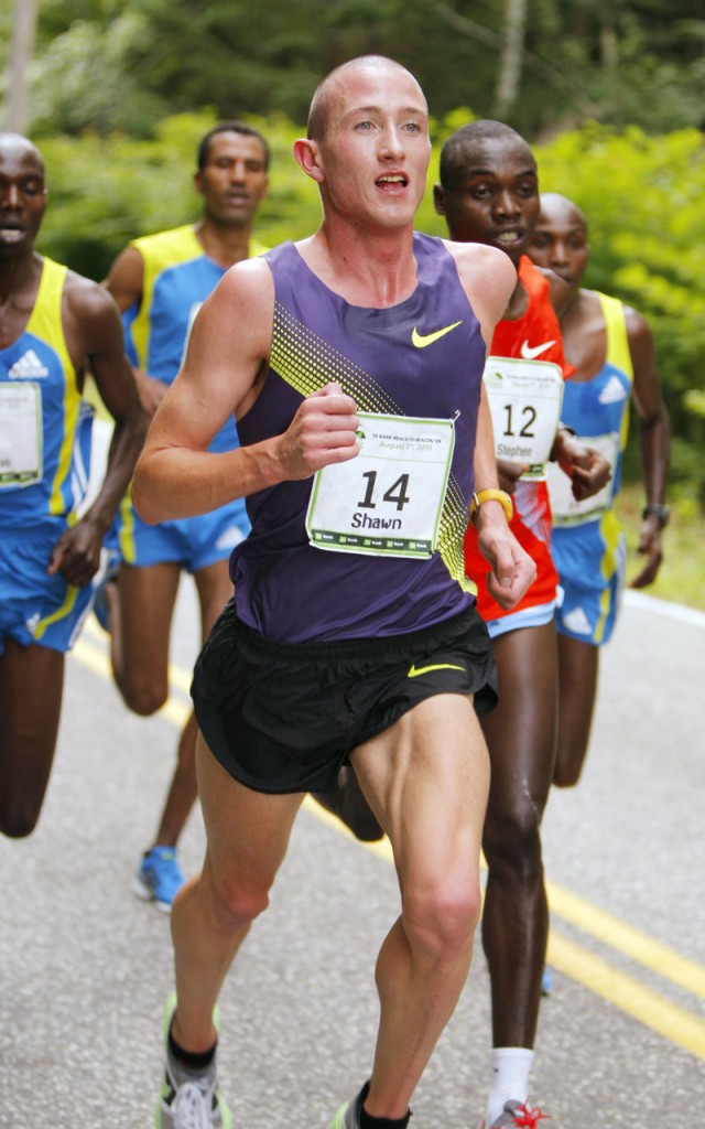 Shawn Forrest, an Australian who hadn't run in a road race since a few years ago in Texas, was a surprising sixth.
