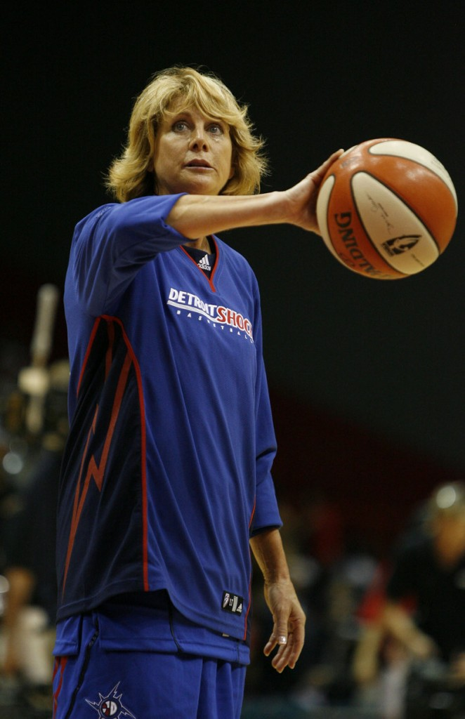 Nancy Lieberman, a member of the Basketball Hall of Fame, brings her D-League team to Portland for two games in March.