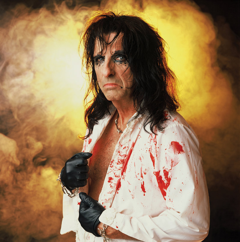 Tickets for Alice Cooper's Oct. 14 concert at the Civic Center in Portland go on sale Friday. Cooper, pictured, performs with Rob Zombie.