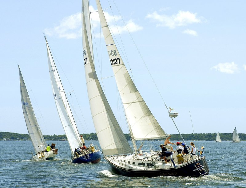 Sailing crews competing in the Monhegan Island Race, which begins at 3 p.m. Friday from Clapboard Island in Falmouth, must prepare for variable winds and changing temperatures.