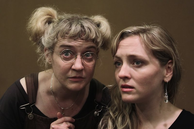 "Rachel Murdy and Stephanie Dodd in Opera House Arts' ""Measure for Measure"""