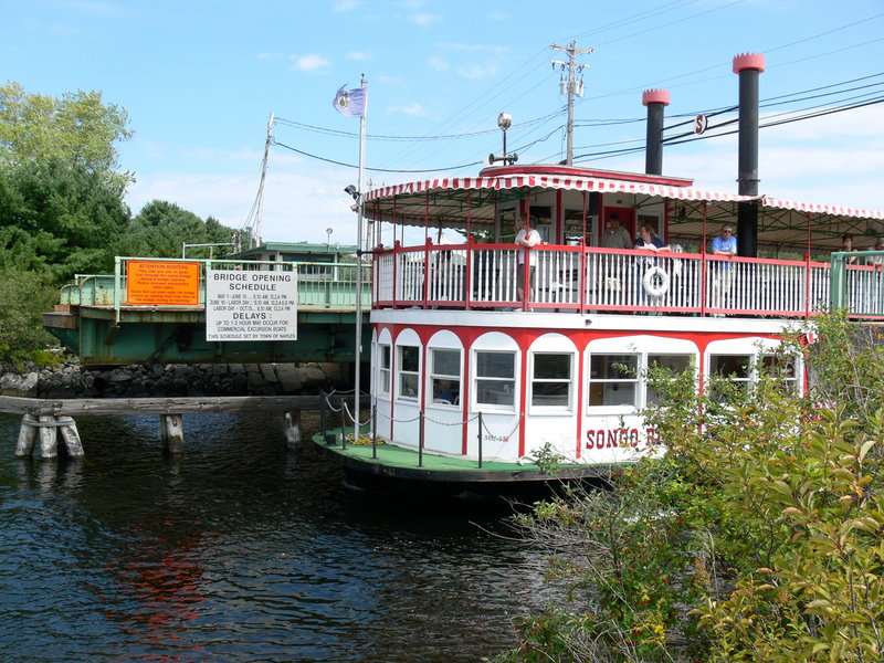 End of an era: 2010 marks the last season the Songo River Queen and other large boats will be able to pass between Long Lake and Brandy Pond toward Sebago Lake.