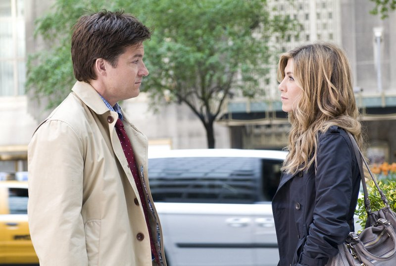 "In the romantic comedy ""The Switch,"" Jennifer Aniston is a 40-year-old New York TV producer who wants to have a baby and Jason Bateman her best friend and confidant."