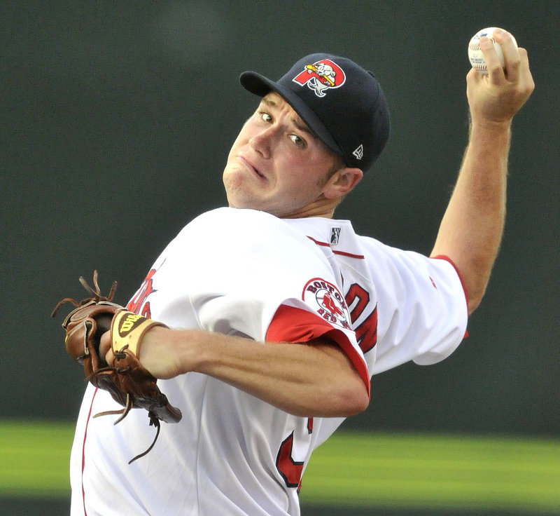 Alex Wilson, after three rocky starts for the Sea Dogs, allowed five hits and a walk in six innings, and took the loss against Altoona.