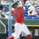 Ryan Lavarnway made an immediate impression when he was promoted to the Portland Sea Dogs last month, then cooled off, but he expects to improve.