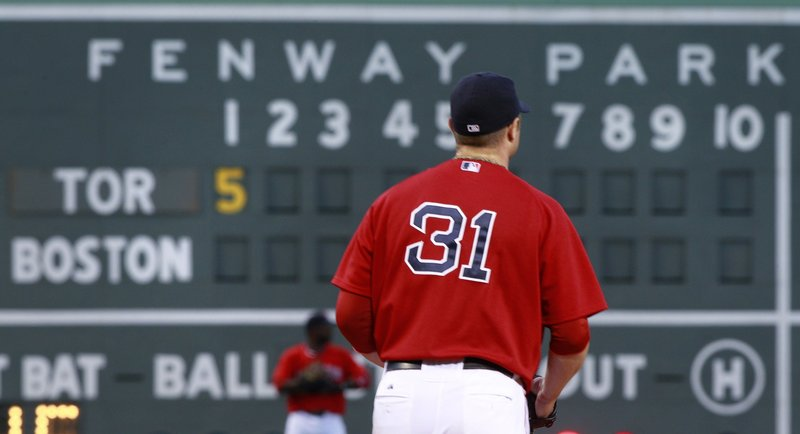 Jon Lester wasn't around long Friday night for the Boston Red Sox, but around long enough to cause damage. Lester allowed nine runs being being taken out with nobody out in the third as the Toronto Blue Jays breezed to a 16-2 victory.