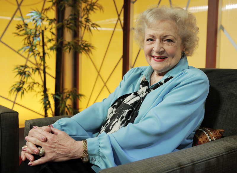 "Actress Betty White, 88, who won an Emmy for best guest actress in a comedy series, is making a splash with the new ""Hot in Cleveland."""