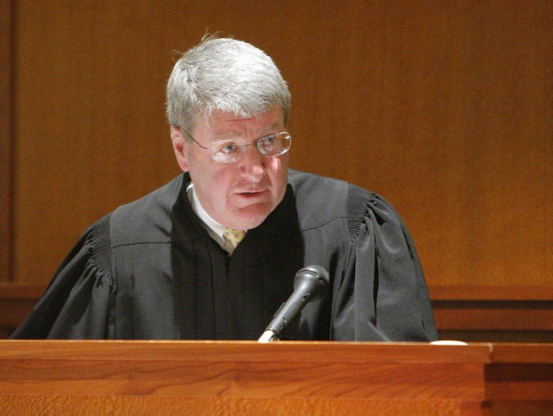 Superior Court Justice Robert Crowley is retiring Tuesday after 28 years as a judge in Maine.