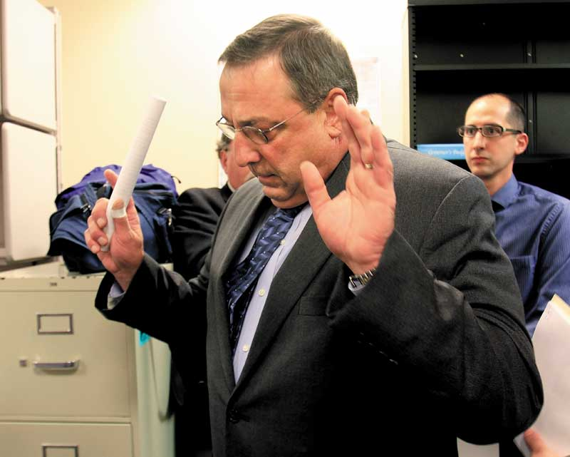 Waterville Mayor Paul LePage stormed away from a tense confrontation with reporters over questions of his wife's residency and tax breaks. The gubernatorial candidate must realize that a state's governor is its ambassador.