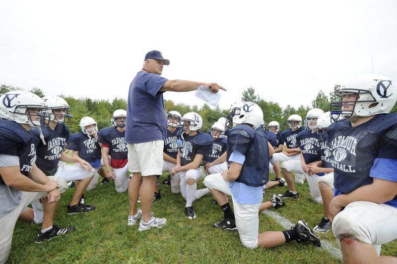 Jim Hartman, the coach, directed a Yarmouth team that totaled one victory in its first two seasons to a regional final last year, and interest in the program continues to grow.