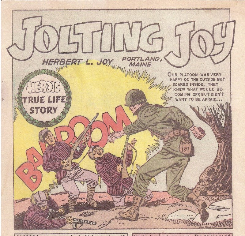 "Herbert ""Junior"" Joy was featured in a comic book from the 1950s."