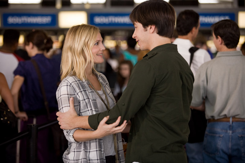 "Drew Barrymore and Justin Long in ""Going the Distance."""