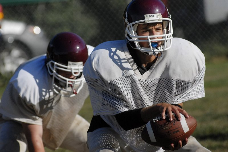 Jared Knighton will be back at quarterback for Freeport, which, in its second varsity season, may cause problems for opponents. The Falcons have 14 returning starters.