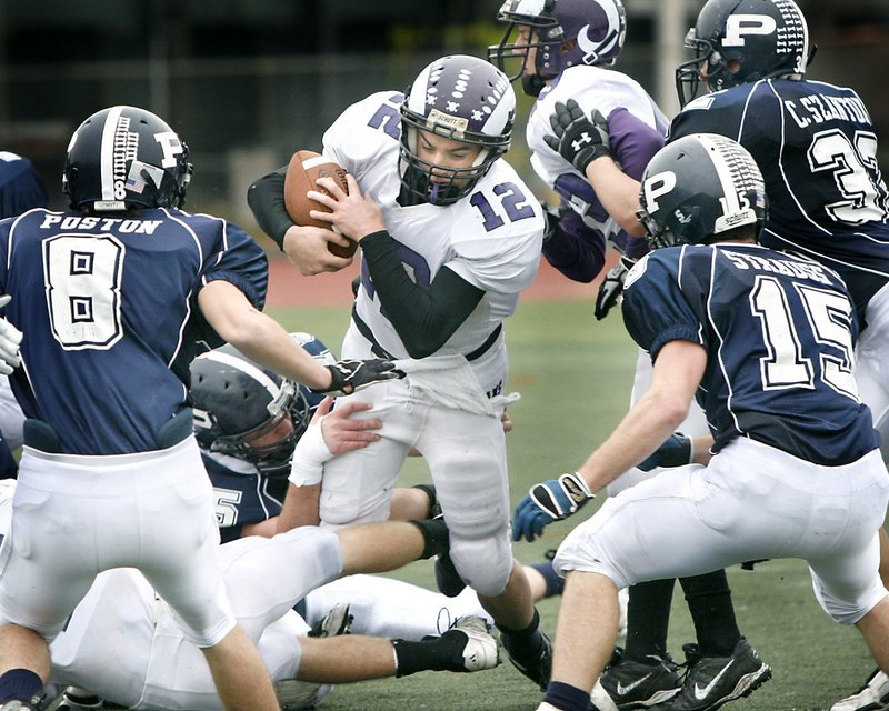 Jamie Ross will be the leader of a Deering team that lost its final six games last season and failed to make the playoffs. Ross is one of the region's top quarterbacks.