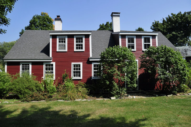 Leslie Hyde and Richard Sanford's home on Pleasant Street in Yarmouth.