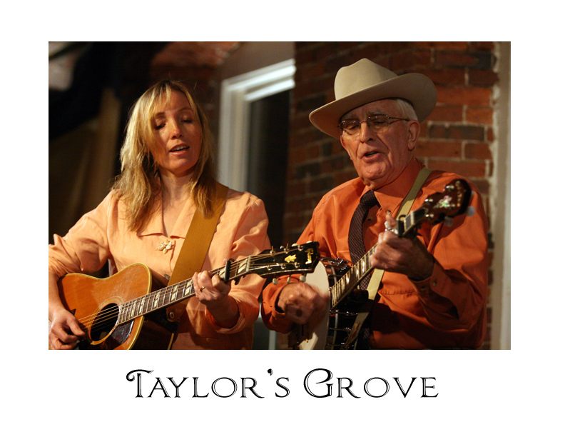 Carolyn Hutton and Mac McHale are Taylor's Grove.