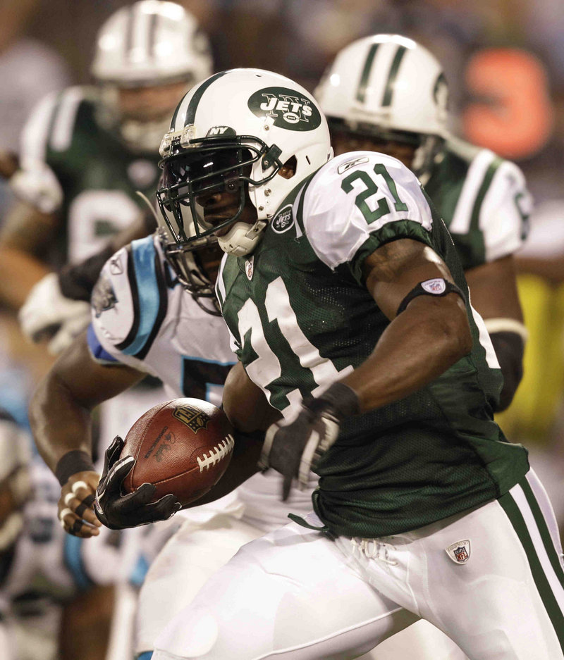 It's strange seeing LaDainian Tomlinson in a New York Jets uniform, but he's far from the only veteran running back making his cuts with a new team.