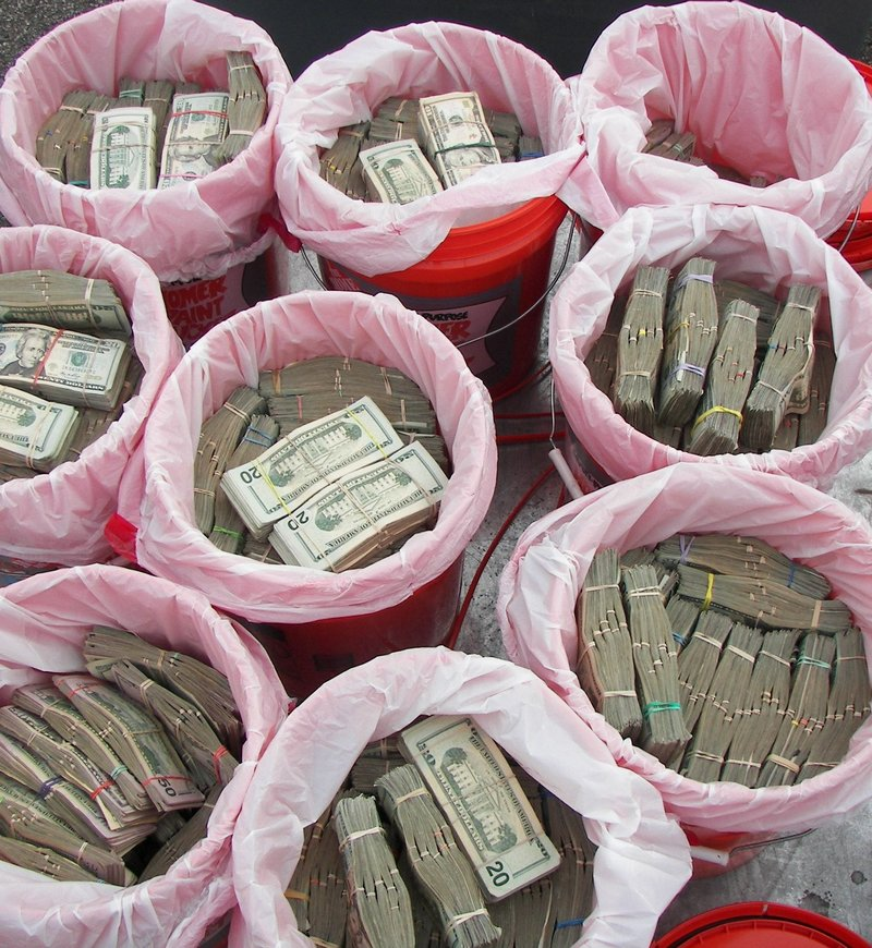 Maine State Police seized more than $1 million in cash Friday from a Texas-registered tractor-trailer stopped for a routine inspection in York. Police said the cash may have been smuggled.