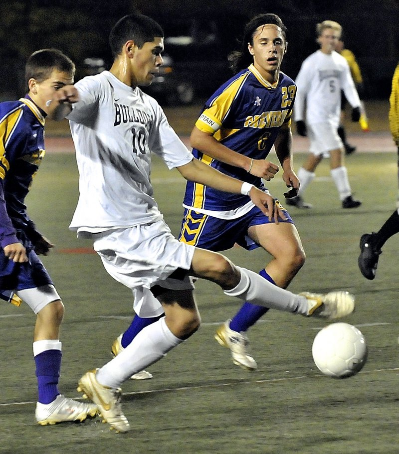 Fazal Nabi of Portland is expected to be the top boys' soccer player in a region that may not have its usual number of top players this season.