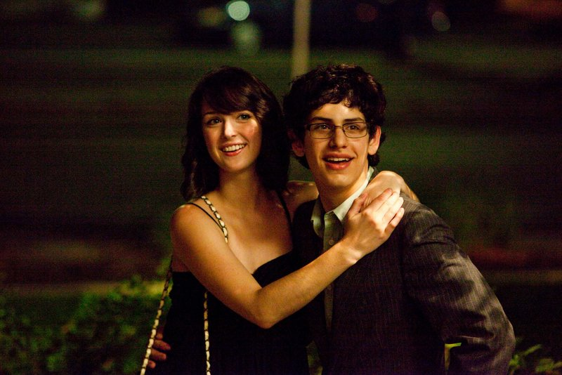 "Nicole Weaver and Matt Bennett in ""The Virginity Hit."""