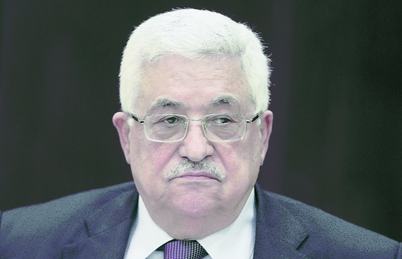 Palestinian leader Mahmoud Abbas wants a partial freeze on new West Bank settlements to stay in place.