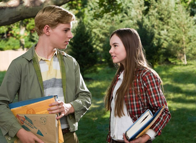 Callan McAuliffe and Madeline Carroll in ""