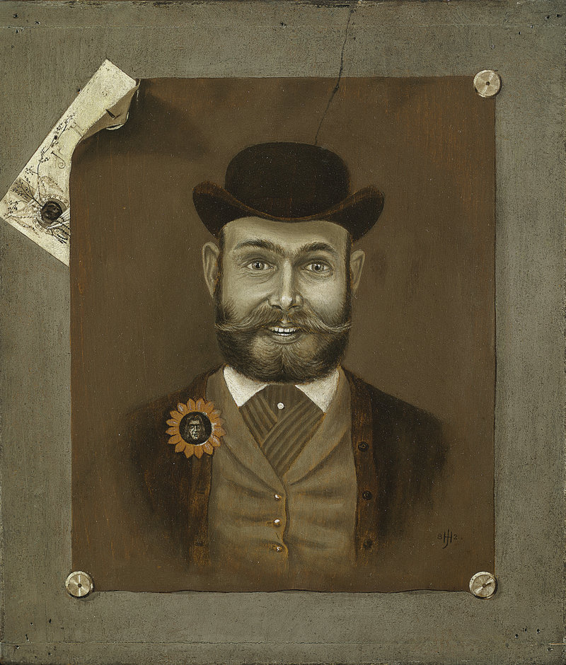 """That's Me! (Self-Portrait),"" 1882, oil on panel"