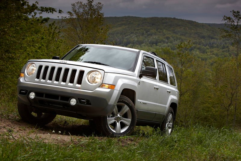 This photo provided by Chrysler shows the 2011 Jeep Patriot. In August, trucks made up 73 percent of total Chrysler sales.