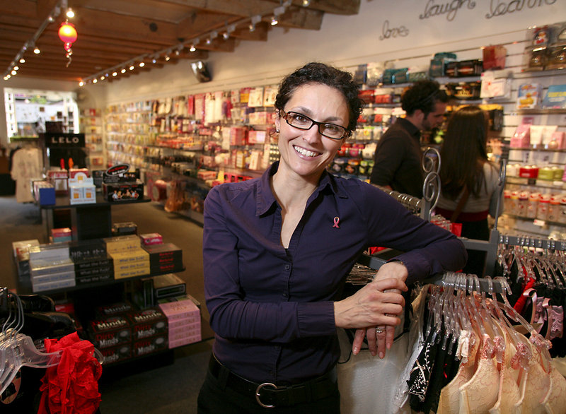 "Nelly Hall, who's been selling ""adult"" items at CS Boutique in Portland for 19 years, thinks it's great that the city made Men's Health's ""Hotbeds of Sex"" list, even if it came in last. ""Sometimes, you get as much attention for being last as for first,"" she said."
