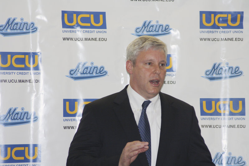 Former Republican gubernatorial candidate Steve Abbott is now the interim athletic director at the University of Maine, a job he expects will last through June.