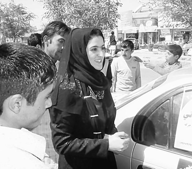 Rana Nuristani is seeking election for the first time from a Kabul district.