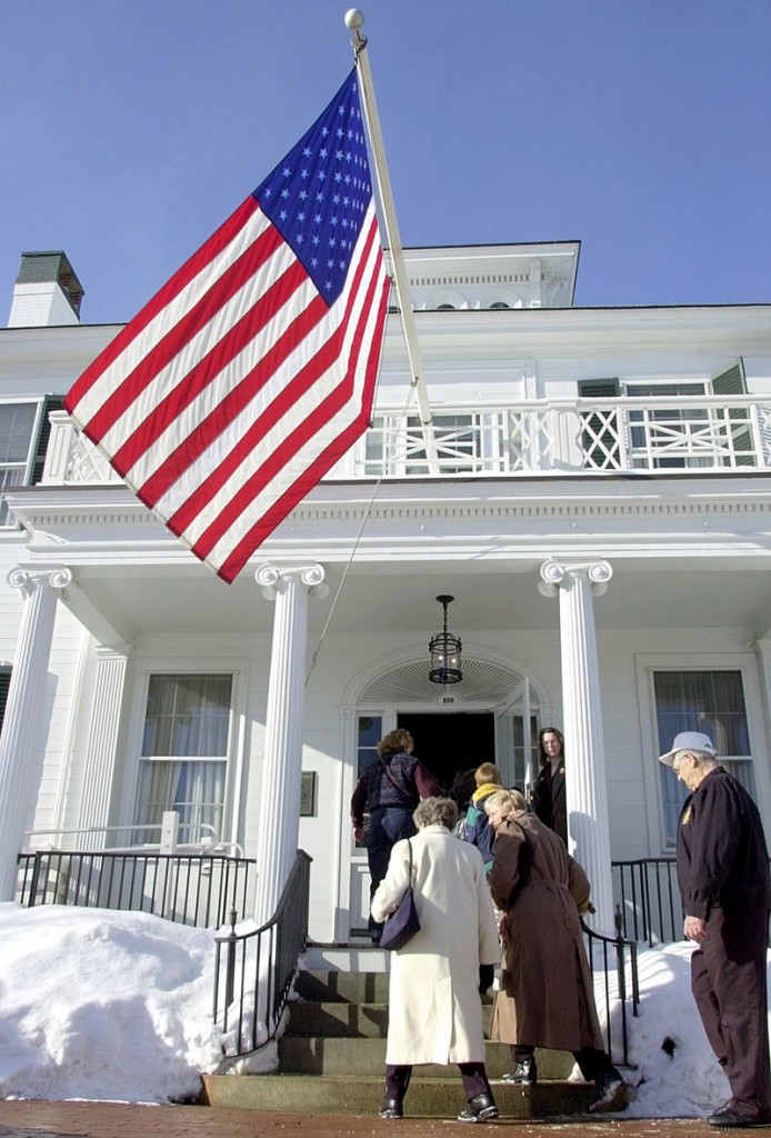 Gov. Baldacci hosted an open house at the Blaine House, the official governor's residence, when he took office in 2003. Readers give their choices to host the next such event.