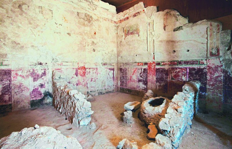 The remains of King Herod's private theater box in the West Bank were recently uncovered by Israelis. Archaeologist Ehud Netzer says Herod commissioned Roman artists to decorate the theater walls with elaborate paintings and plaster moldings around 15 B.C.