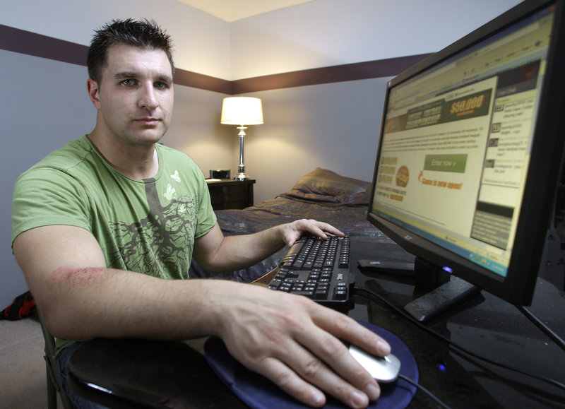 Dave Nutini, a 31-year-old former bank contract manager from Dublin, Ohio, who quit his job three weeks ago to play poker professionally, plans to wager $200 to $300 per week on fantasy football using FanDuel.com. He has already won $500 and a trip to Las Vegas.