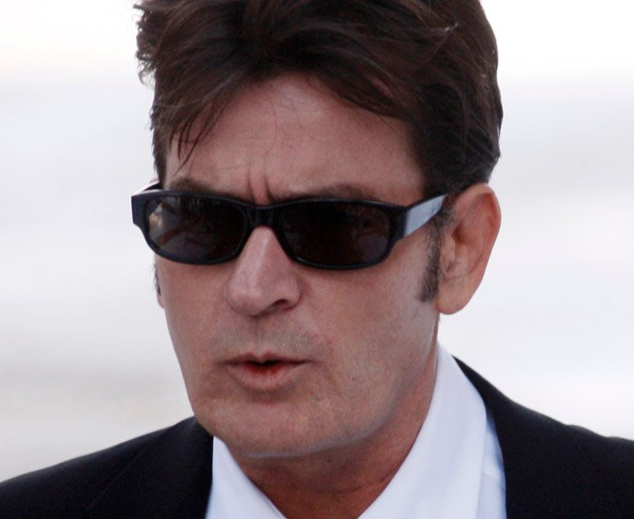 Charlie Sheen, the star of CBS'