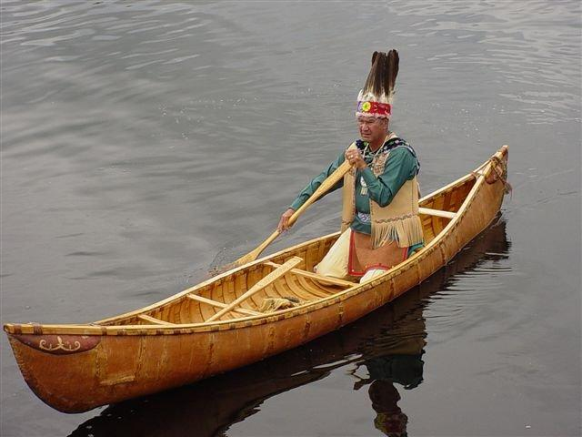 Butch Phillips, a Penobscot tribal elder, will give a presentation on the building and use of the traditional birch bark canoe at 11 a.m. Saturday at the Brick Store Museum in Kennebunk.