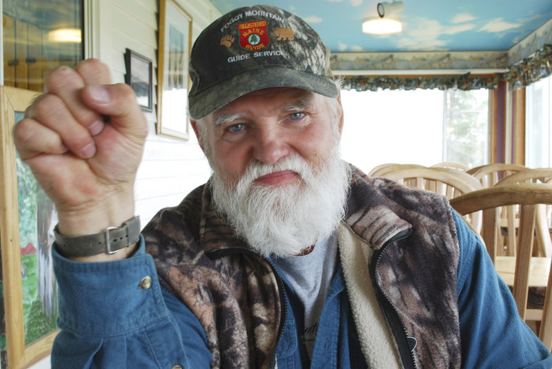 Guide Wayne Bosowicz has specialized in bear hunts for more than 40 years at Foggy Mountain Guide Service, based out of Sebec and locations to the north. Even with a bigger population, only about 30 percent of bear hunters bag a bruin.