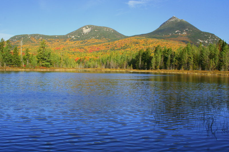 "October brings high color to Baxter State Park. Facebook users can share and get information about changing hues on the Maine Department of Conservation's new page, ""Maine Fall Foliage."""