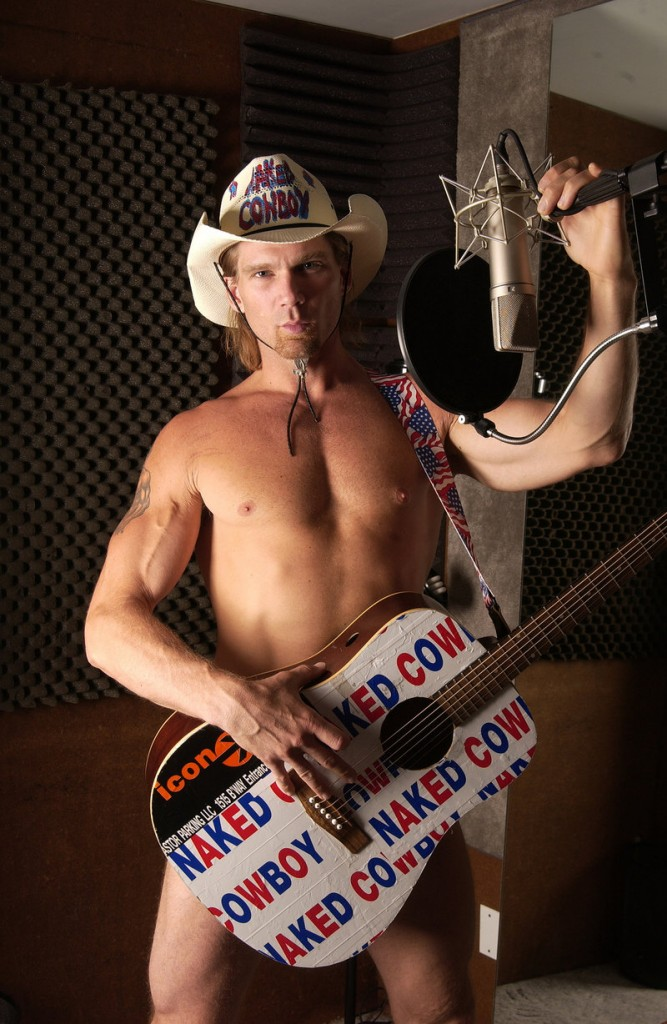 "Robert Burck, Times Square's ""Naked Cowboy"" tourist attraction, says he intends to run for president in 2012 as a member of the conservative Tea Party Movement."