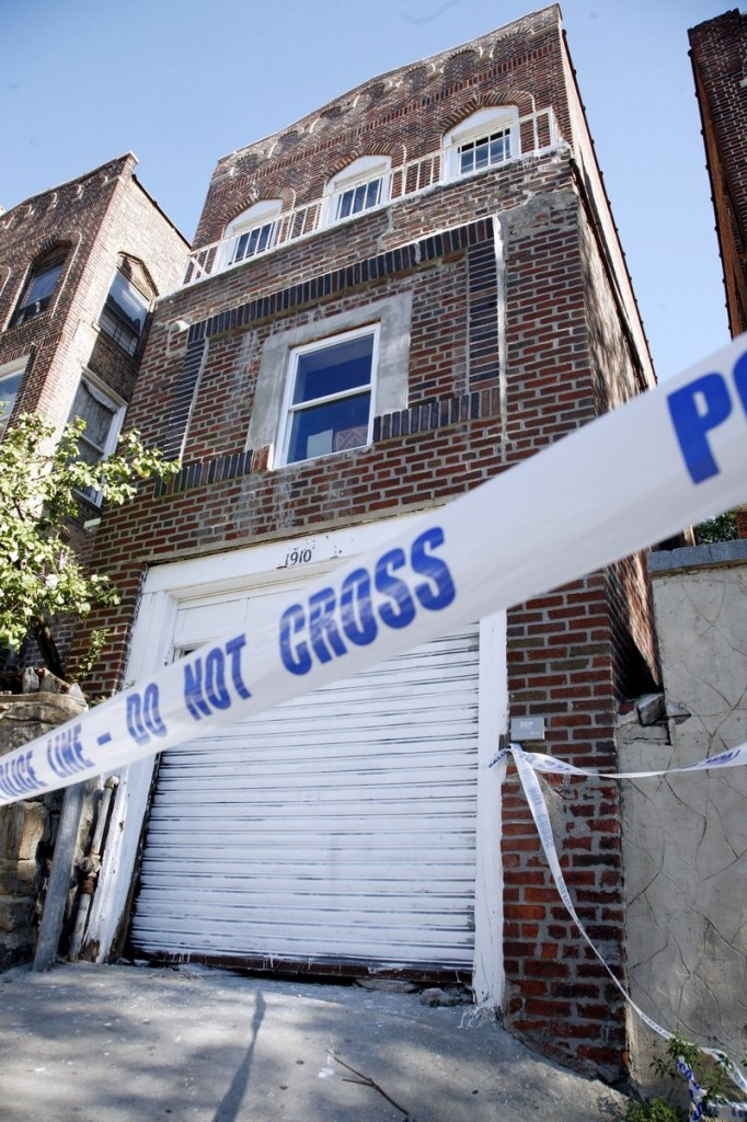 This abandoned home served as a clubhouse for a street gang accused of trapping and brutalizing three gay men in the Bronx.