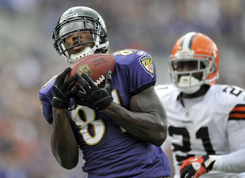 Anquan Boldin came over from Arizona this season and has become a big threat, leading the Ravens with 28 catches.