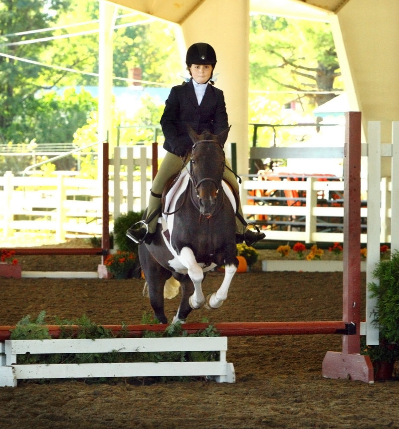 Katherine Bernard of Cumberland earned the first-place prize in the mini medal category.