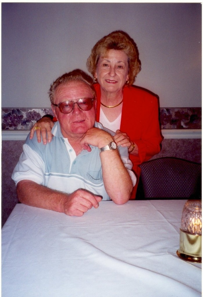 "Hansjoachim ""Red"" Zimmermann with his wife, Liselotte. Mr. Zimmermann died Wednesday at age 76."