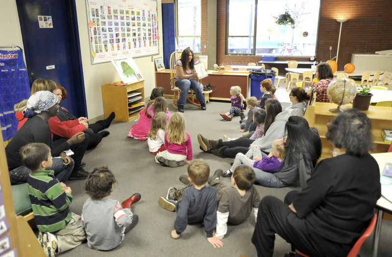 The Portland district started a new pre-kindergarten program this fall at the Portland Arts and Technology High School.